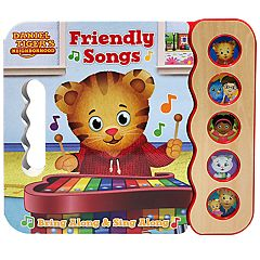 Daniel Tiger Friendly Songs Sound Book