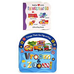 2-Book Pack: Vroom & Zoom & Things That Go