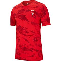 c06065d5 Men's Nike Camouflage Basketball Tee. Anthracite White University Red