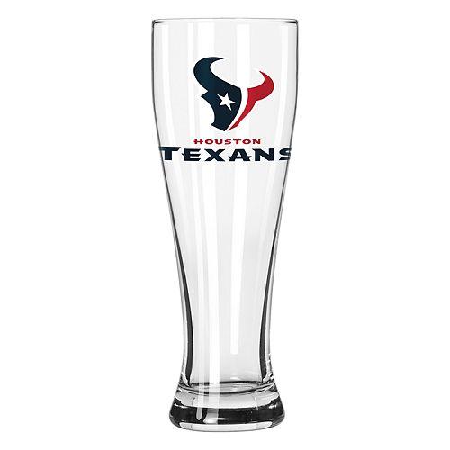 Boelter Houston Texans Pilsner Glass
