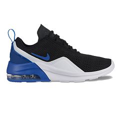 new style 76a99 d26a5 Nike Air Max Motion 2 Grade School Boys  Sneakers. Black White Gray ...