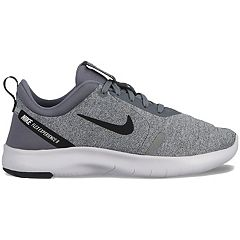 f9750060869e Nike Flex Experience RN 8 Grade School Boys  Sneakers. Indigo Blue Gray  Black ...