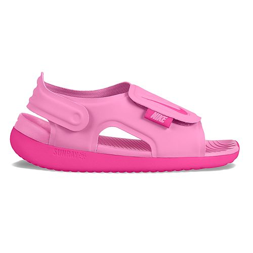 Details zu Nike Sunray Pink Water Shoes Sandal w Adjustable Strap Girls Size 4C Toddler