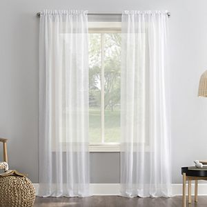 No 918 Erica Crushed Sheer Voile Window Curtain