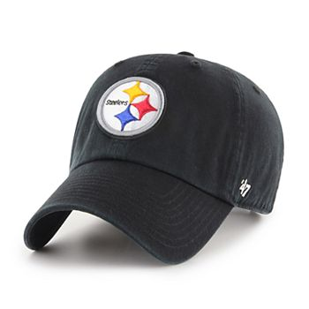 d5c52b5861f Adult  47 Brand Pittsburgh Steelers Clean Up Adjustable Cap