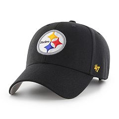 competitive price 6c20a 8cf33 Adult  47 Brand Pittsburgh Steelers MVP Adjustable Cap