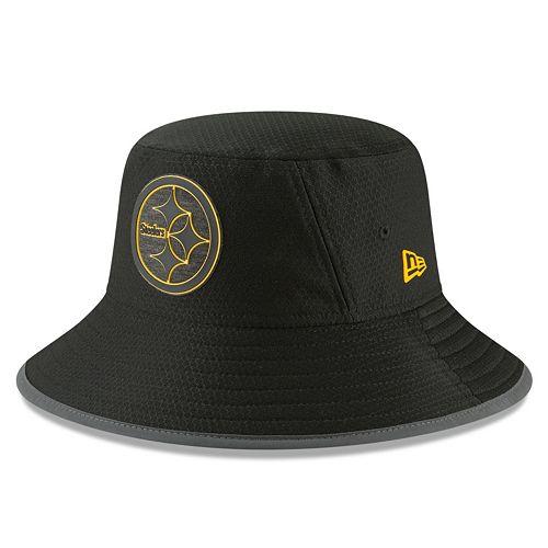 94955cafd Adult New Era Pittsburgh Steelers Training Bucket Hat