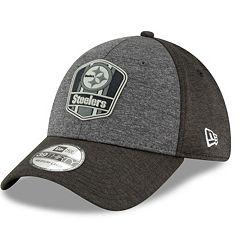 Adult New Era Pittsburgh Steelers Sideline Team 39THIRTY Flex-Fit Cap