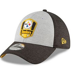 Adult New Era Pittsburgh Steelers Sideline Team 39THIRTY Flex-Fit Cap