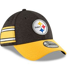 Adult New Era Pittsburgh Steelers Sideline Home Official 39THIRTY Flex-Fit Cap