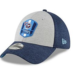 5cf956de0d636 Adult New Era Tennessee Titans Sideline Team 39THIRTY Flex-Fit Cap