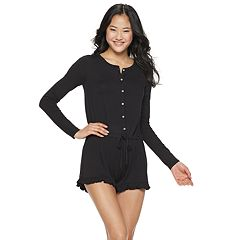 Juniors' SO® Ruffle Romper