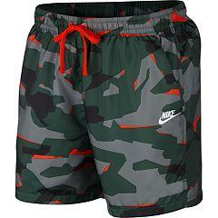 Men's Nike Sportswear Camo Woven Shorts