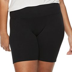 Plus Size SO® Yoga Shorts
