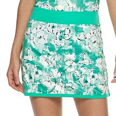 Women's Grand Slam Watercolor Floral Print Golf Skort