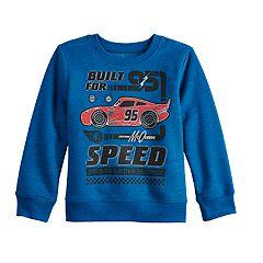 Disney / Pixar Cars Toddler Boy Lightning McQueen Softest Fleece Sweatshirt by Jumping Beans®