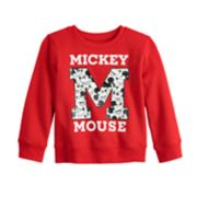 "Disney's Mickey Mouse Toddler Boy ""M"" Softest Fleece Sweatshirt by Jumping Beans®"