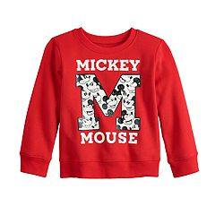 Disney's Mickey Mouse Toddler Boy 'M' Softest Fleece Sweatshirt by Jumping Beans®