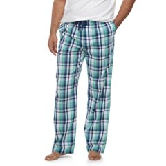 Big & Tall Croft & Barrow® Plaid Stretch Woven Lounge Pants