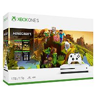Xbox One S 1TB Minecraft Starter & Creators Bundle + $60 Kohls Cash Deals
