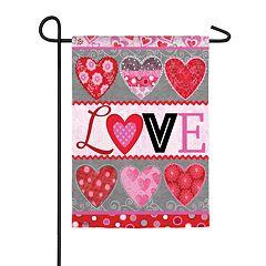Indoor / Outdoor 'Love' Garden Flag