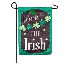 Indoor / Outdoor St. Patrick's Day Garden Flag
