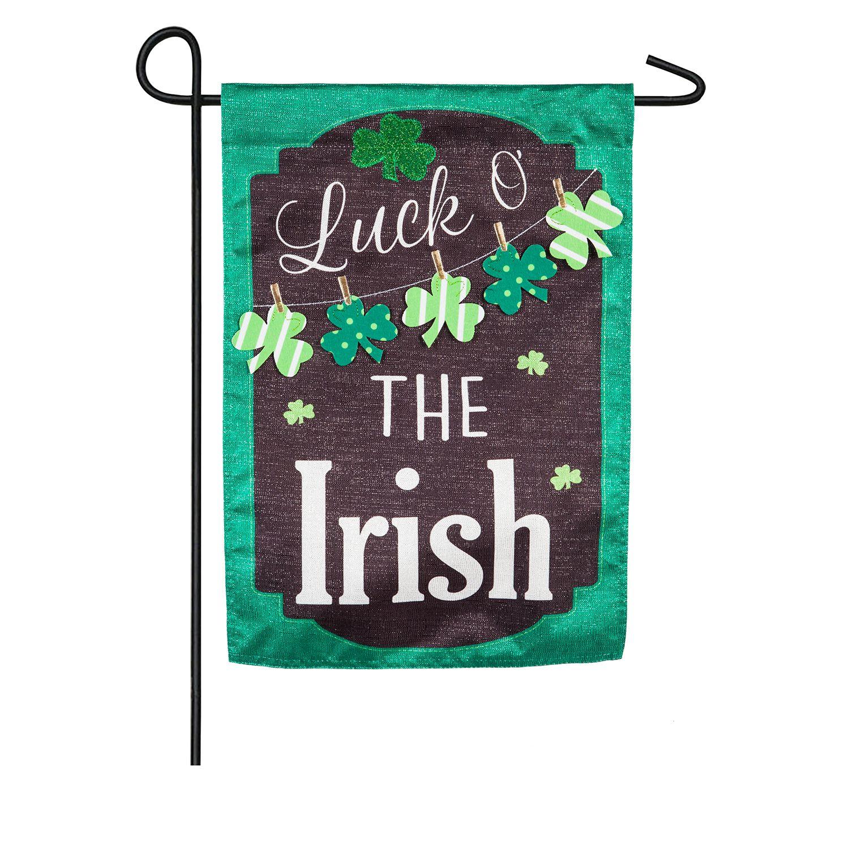 Indoor / Outdoor St. Patricku0027s Day Garden Flag