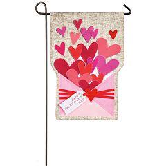 Indoor / Outdoor Valentine's Day Garden Flag