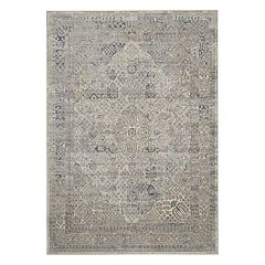 Kathy Ireland Malta Framed Distressed Rug by Nourison