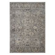 Kathy Ireland Malta Bordered Bloom Rug by Nourison