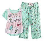 Toddler Girl Dr. Suess One Fish Two Fish Top & Bottoms Pajama Set