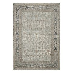 Kathy Ireland Malta Dazzling Cloud Distressed Rug by Nourison