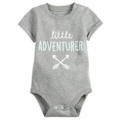 Baby Boy Jumping Beans® Graphic Roll-Cuff Bodysuit