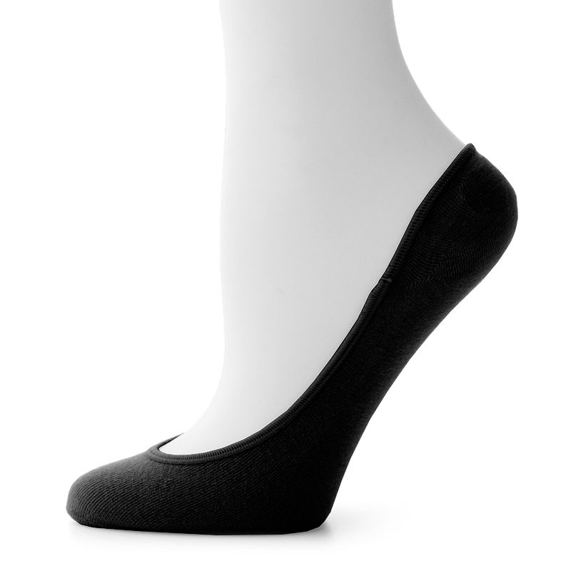 Apt. 9® 3-pk. Cotton Liner Socks