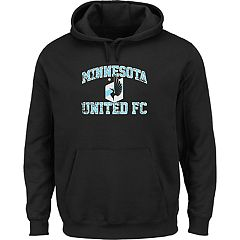 Men's Majestic Minnesota United FC Great Achievement Pullover Hoodie