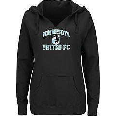 Men' Majestic Minnesota United FC Great Achievement Hoodie