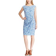 Women's Chaps Floral Gathered Sheath Dress