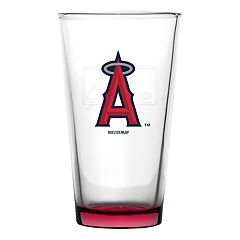 Boelter Los Angeles Angels of Anaheim Embossed Pint Glass