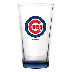 Boelter Chicago Cubs Embossed Pint Glass
