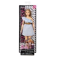 bd77ba1d0cd Barbie Fashionista Pinstriped Doll
