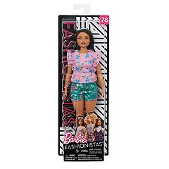 Barbie Fashionista Floral Frills Doll