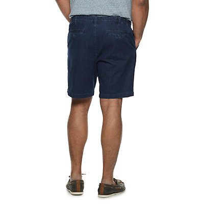 Big & Tall Croft & Barrow® Denim Shorts