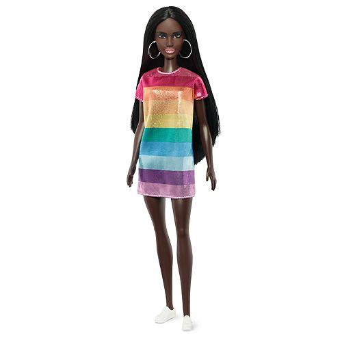 Barbie Fashionista Rainbow Bright Doll