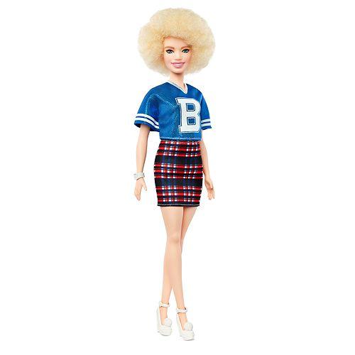 Barbie Fashionista Varsity Plaid Doll