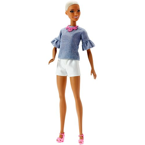 Barbie Fashionista Chic In Chambray Doll