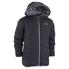 Boys 4-7 Under Armour Pronto Hooded Heavyweight Jacket