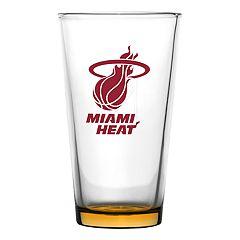 Miami Heat Pint Glass