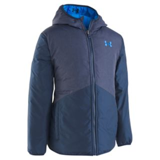 Boys 4-7 Under Armour Reversible Quilted & Colorblock Pronto Midweight Jacket