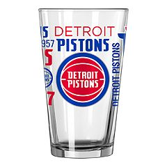 Detroit Pistons Pint Glass