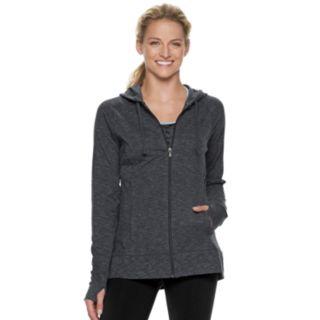 Women's Tek Gear® Thumb Hole Zip-Up Jacket